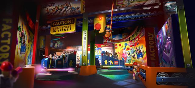 Legoland New York Lego Factory Adventure Szene2