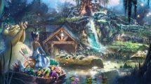 """""""Splash Mountain"""" bekommt eine neue Thematisierung! Die Wasserbahn behandelt bald den Film """"Küss den Frosch"""" © Disney"""