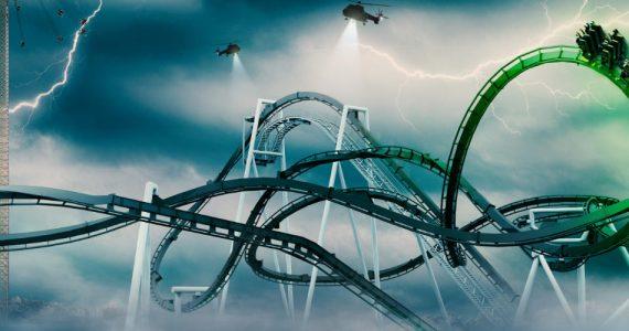 """Der Inverted Coaster """"Monster"""" eröffnet 2021! © Gröna Lund"""