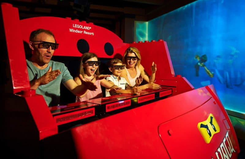 legoland windsor resort ninjago the ride