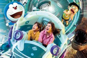 """STAND BY ME Doraemon 2"" XR-Fahrt © Universal Studios Japan"