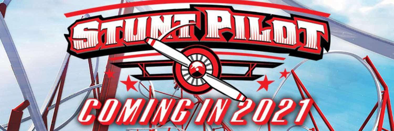 """Das Logo vom """"Stunt Pilot"""" © Silverwood"""