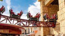 """Die neuen Züge der """"Cobra"""" im Conny Land, bieten ein neuartiges Fahrerlebnis. © Sunkid"""