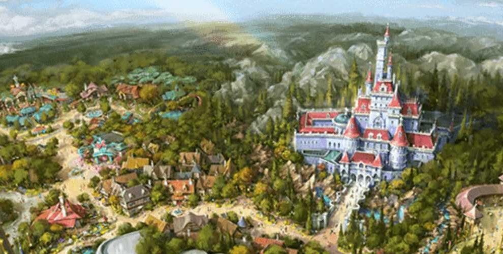 Ein Blick auf die Erweiterung 2020 © Tokyo Disneyland