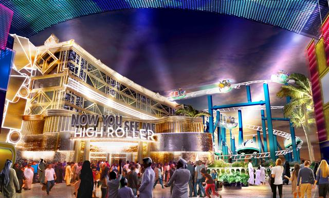 Motiongate Dubai Now You See Me High Roller