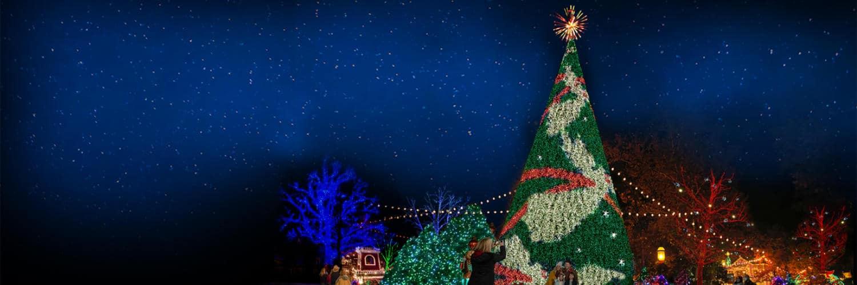 Festliche Stimmung zu Weihnachten © Silver Dollar City