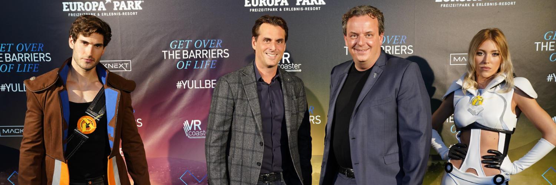 Die geschäftsführenden Gesellschafter Thomas und Michael Mack © Europa-Park Resort