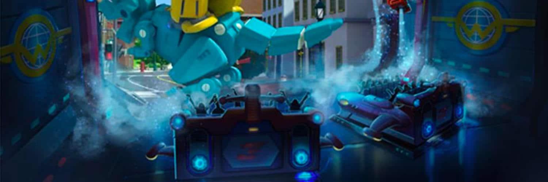 """""""Ledi Secret Mission"""" wird durch die """"Funride 21"""" Simulatoren zum großen Abenteuer © Simtec Systems"""