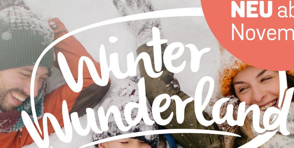 Besuche im November erstmals das Winter Wunderland © Taunus Wunderland