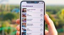 Viele hilfreiche Infos in der Toverland App © Toverland