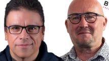 Ernest Yale von Triotech und Benoit Cornet Von BoldMove machen gemeinsame Sache! © Triotech