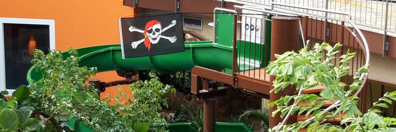 """""""Piratensause"""" das Rutschabenteuer für junge Piraten © Tropicana Stadthagen"""