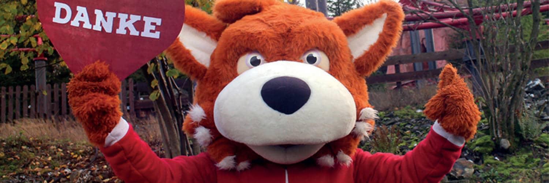 Funny Fux dankt allen Besuchern nach einer schwierigen Saison © Fort Fun Abenteuerland