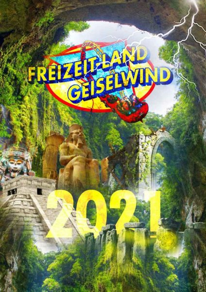 Ein Teaser zum neuen Themenbereich im Freizeit-Land Geiselwind 2021