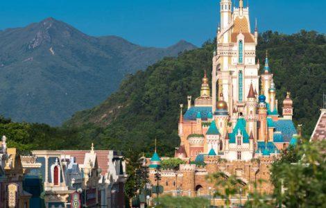 Die Castle of Magical Dreams in Hong Kong Disneyland © Hong Kong Disneyland