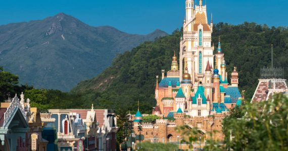 Die Castle of Magical Dreams in Hong Kong Disneyland © Hong Kong Disneyland