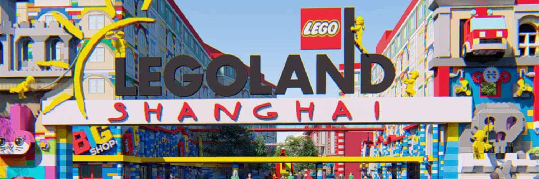 Hier wird 2024 das Lego Abenteuer in Shanghai beginnen © Legoland Shanghai Resort