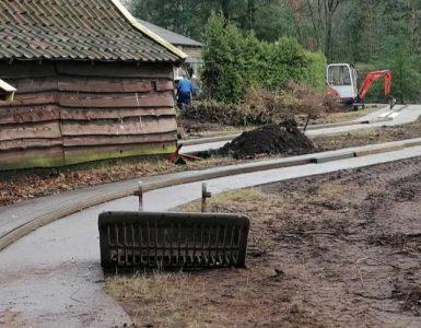 """Derzeit ist an der """"Oldtimer"""" Attraktion alles kahl © Avonturenpark Hellendoorn"""