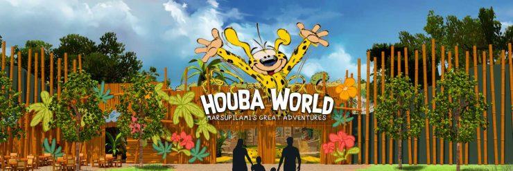 """Bereits von außen verspricht die """"Houba World"""" ein familienfreundliches Abenteuer © BoldMove"""