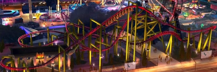 """Phoenix"" © Denos Wonder Wheel Amusement Park"