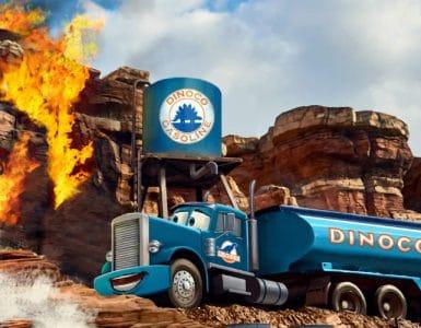 2021 eröffnet in den Walt Disney Studios eine neue Cars Attraktion © Disney