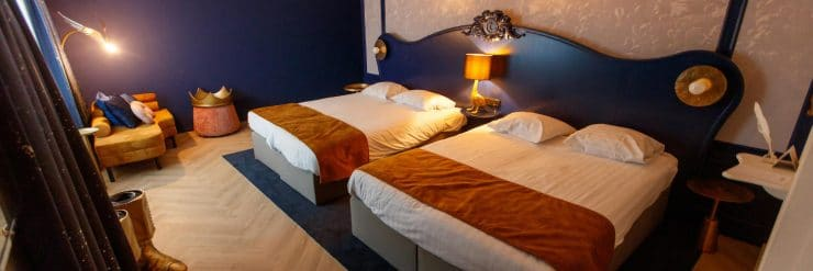 Ein Blick in die renovierten Zimmer im Efteling Hotel. Sieht doch sehr schick aus oder? © Efteling