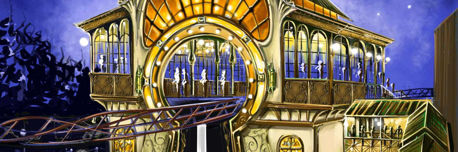 """Konzept """"The Ride to Happiness by Tomorrowland"""" © Plopsaland De Panne"""